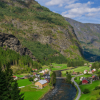 Scenes from the Flåm Railway, Norway