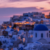 Chasing Sunsets in Santorini