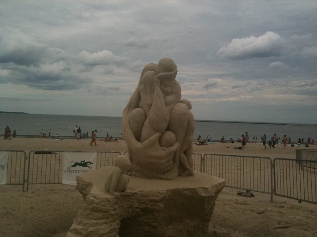 photo essay revere beach sand sculptures adventurous kate loved