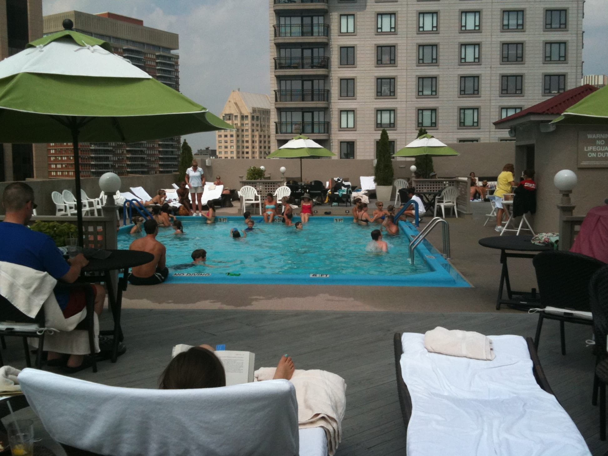 boston rooftop pool review a day at the colonnade adventurous kate