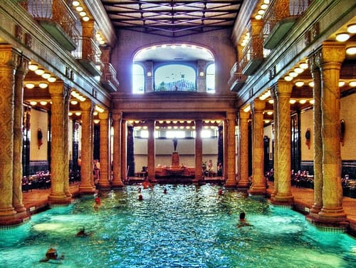 The Gellert Baths of Budapest - Adventurous Kate : Adventurous Kate