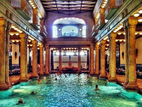 The Gellert Baths of Budapest : Adventurous Kate