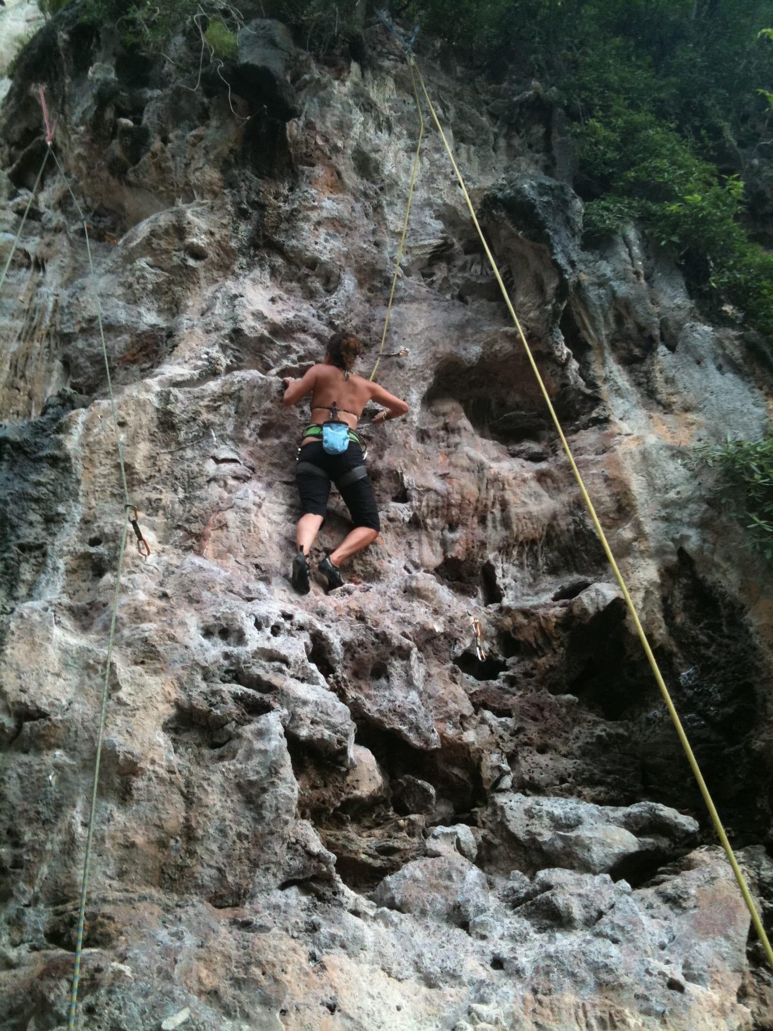 Kate Climbs