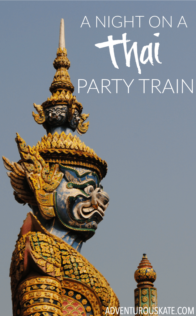 A Night on a Thai Party Train