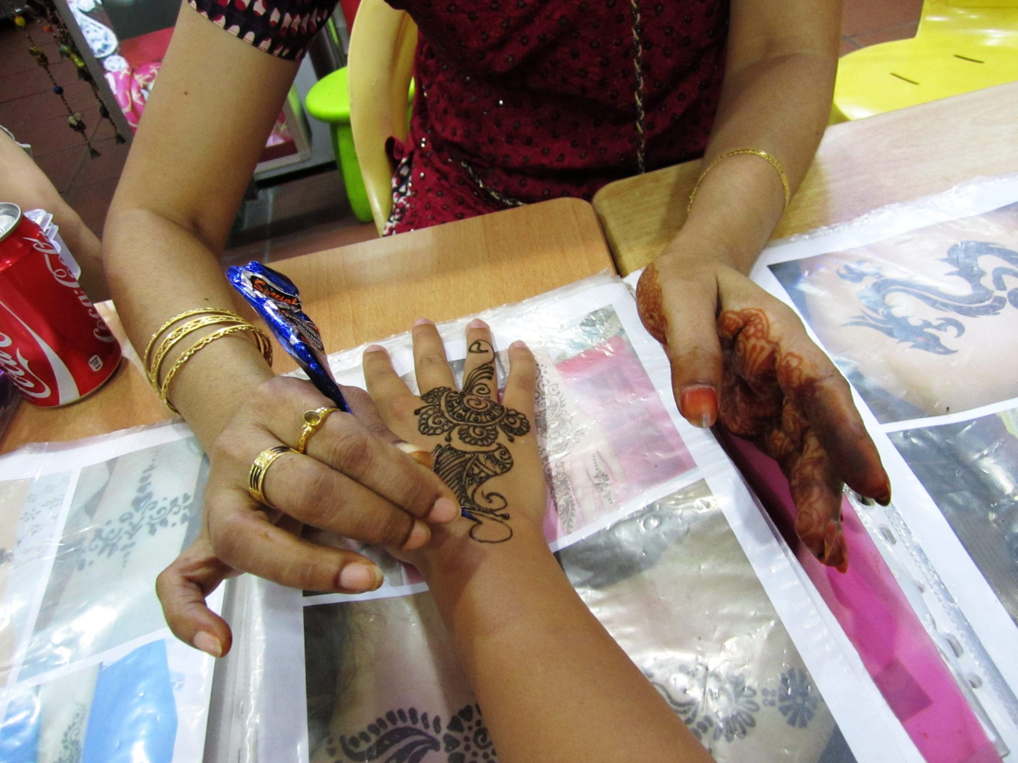 Henna Tattoo In Little India Singapore: Getting Henna In Little India, Singapore