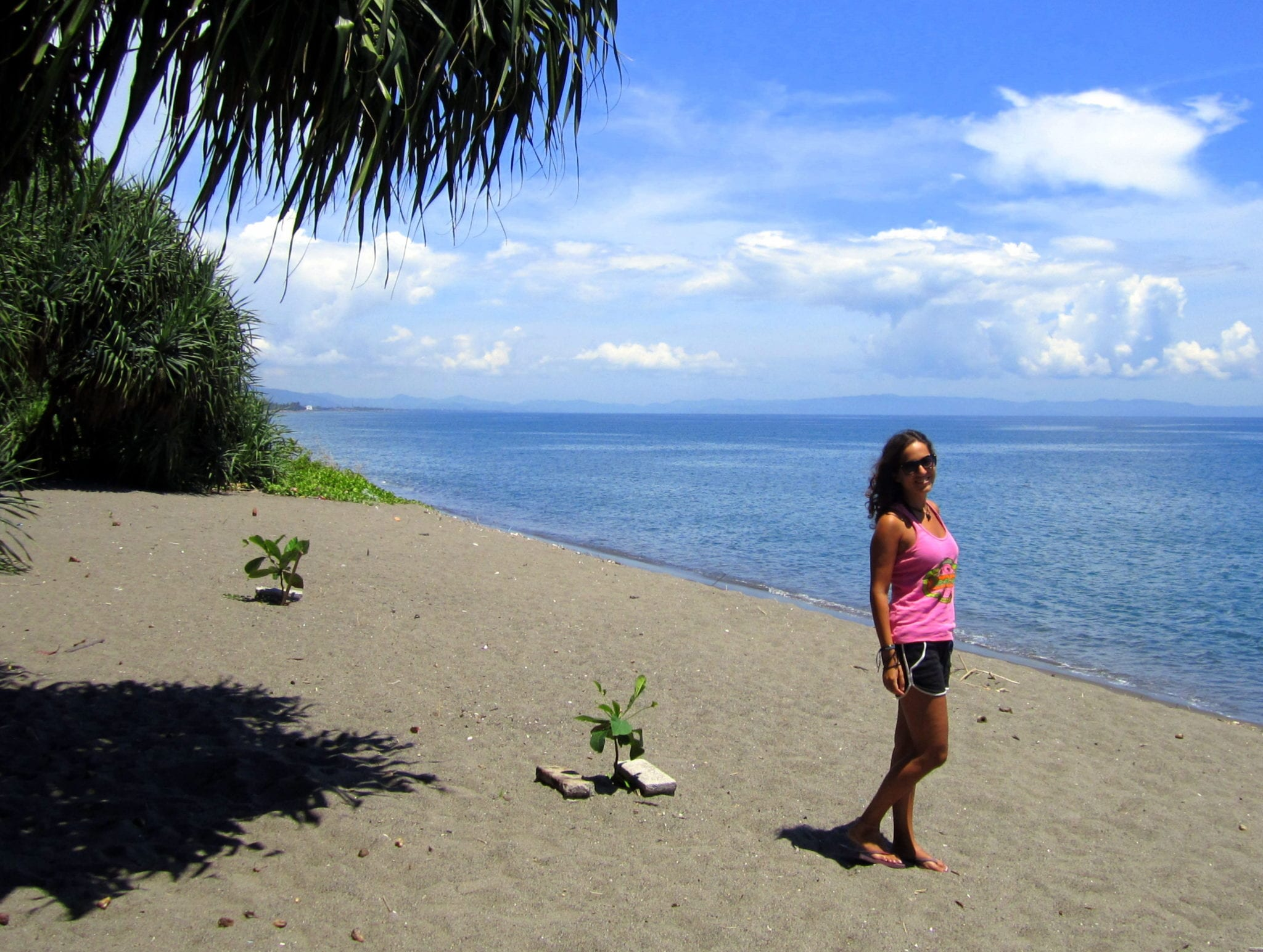 Kate in Senggigi
