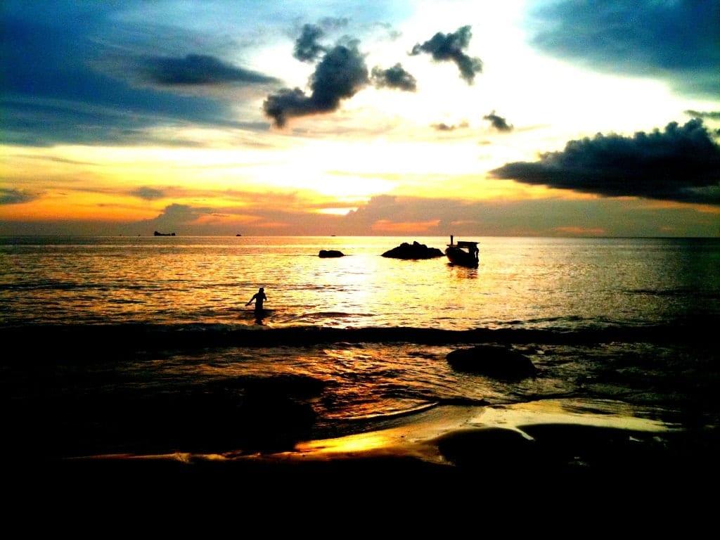 The Best Beach to Watch a Sunset: Klong Nin Beach, Koh Lanta, Thailand