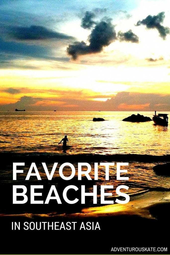 My Favorite Beaches in Southeast Asia | Adventurous Kate