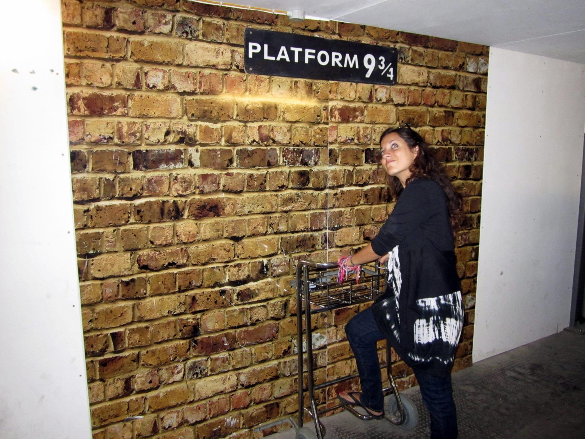 Kate at Platform 9 3/4