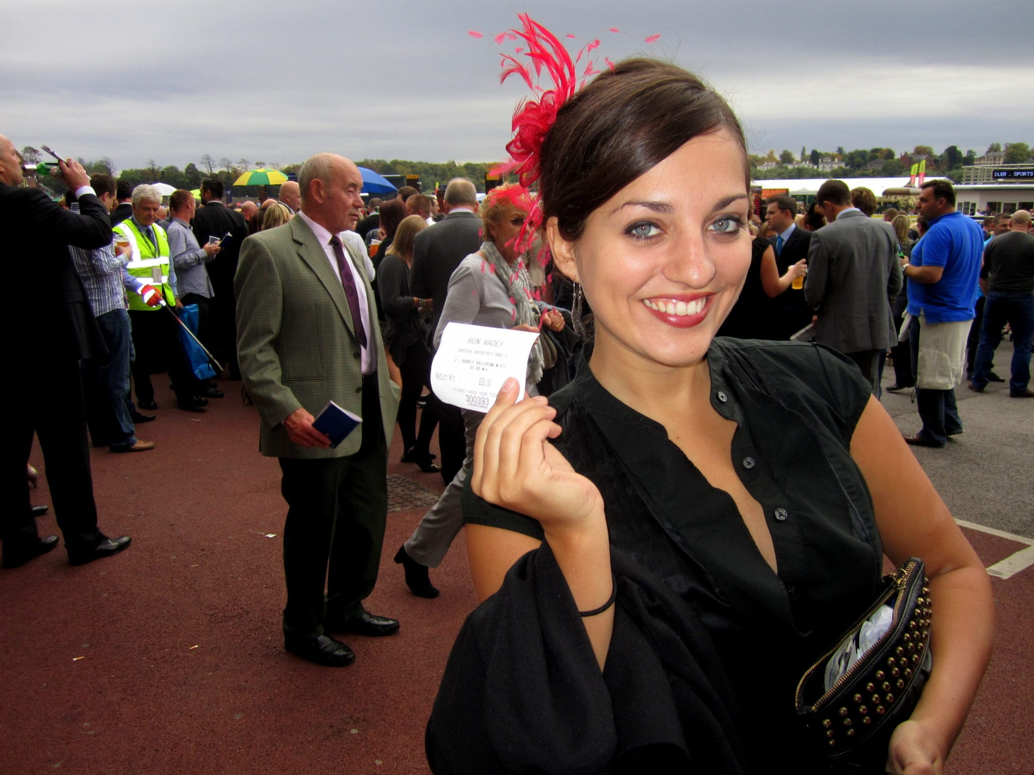 Kate at the Chester Races