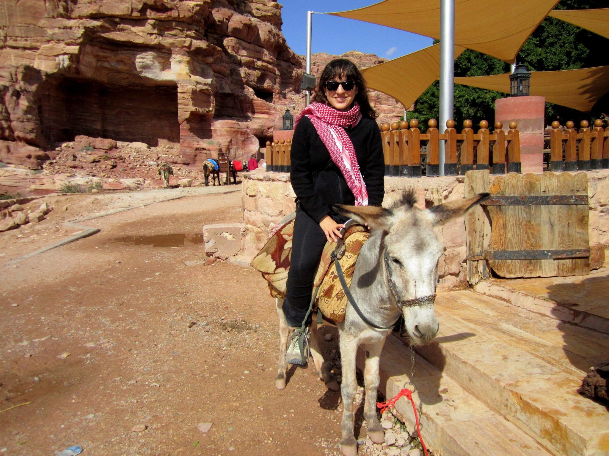 Adventurous Kate Rides a Donkey; Hilarity Does Not Ensue