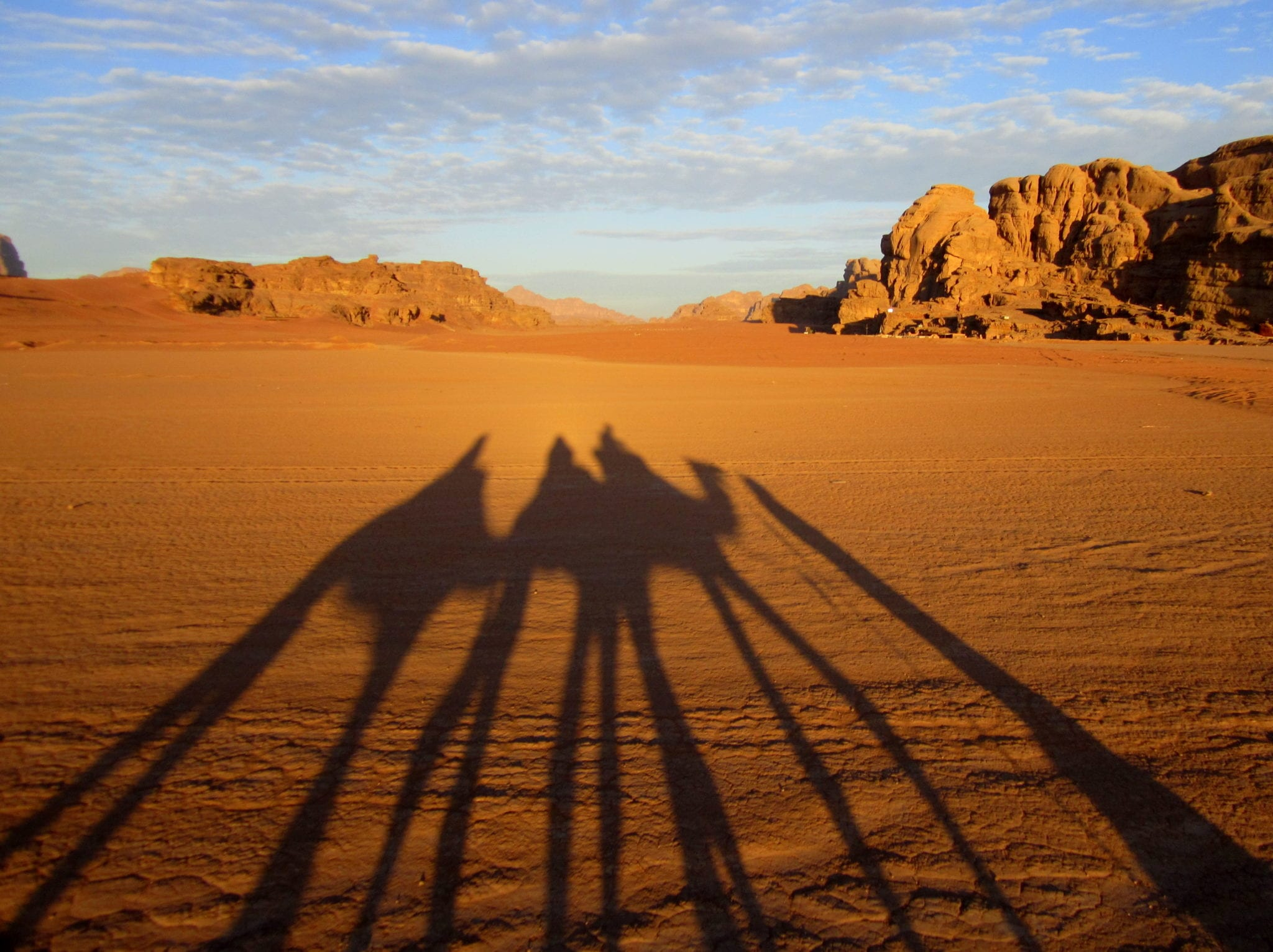 Wadi Rum at Sunrise