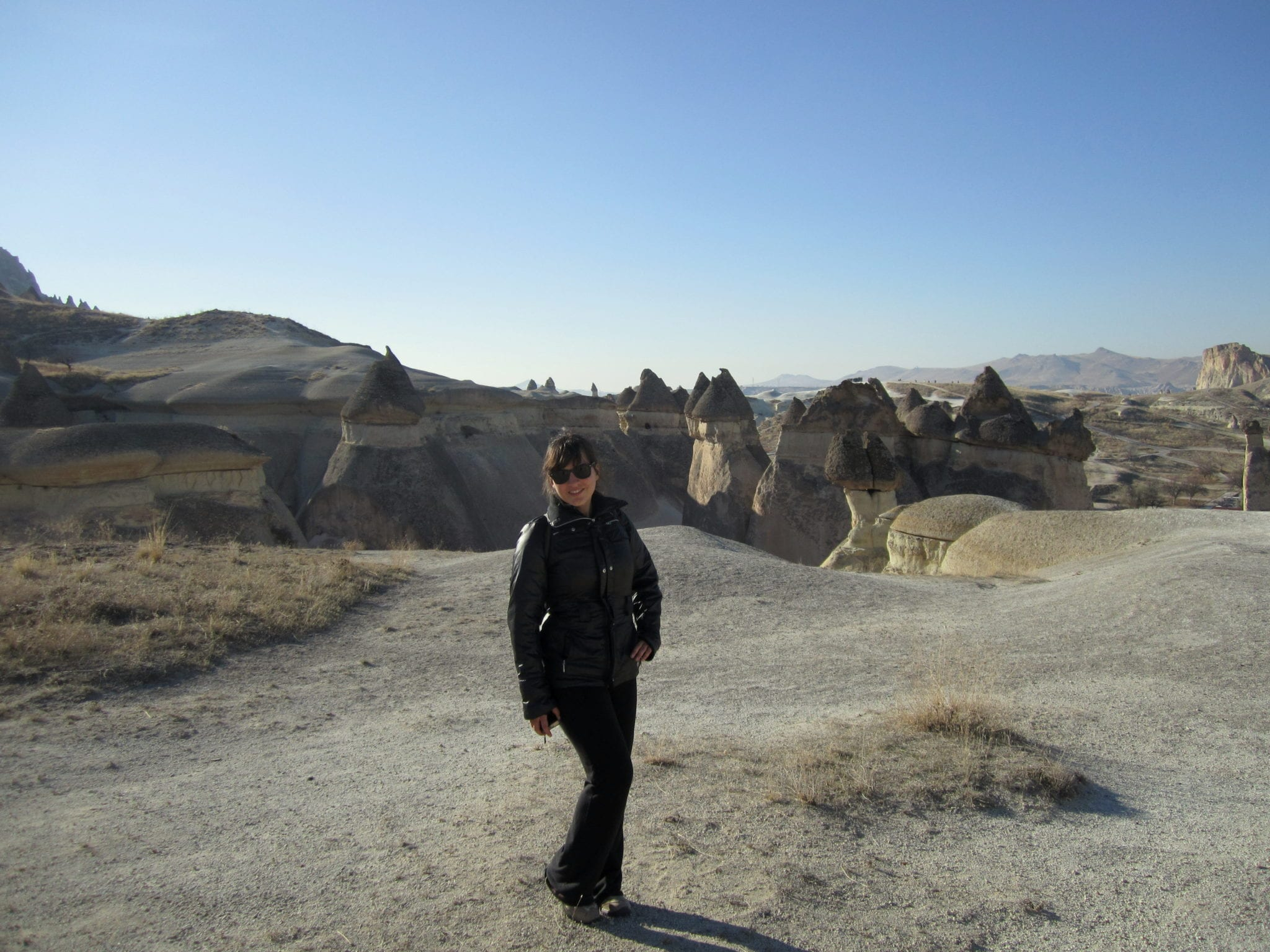 Kate in Cappadocia