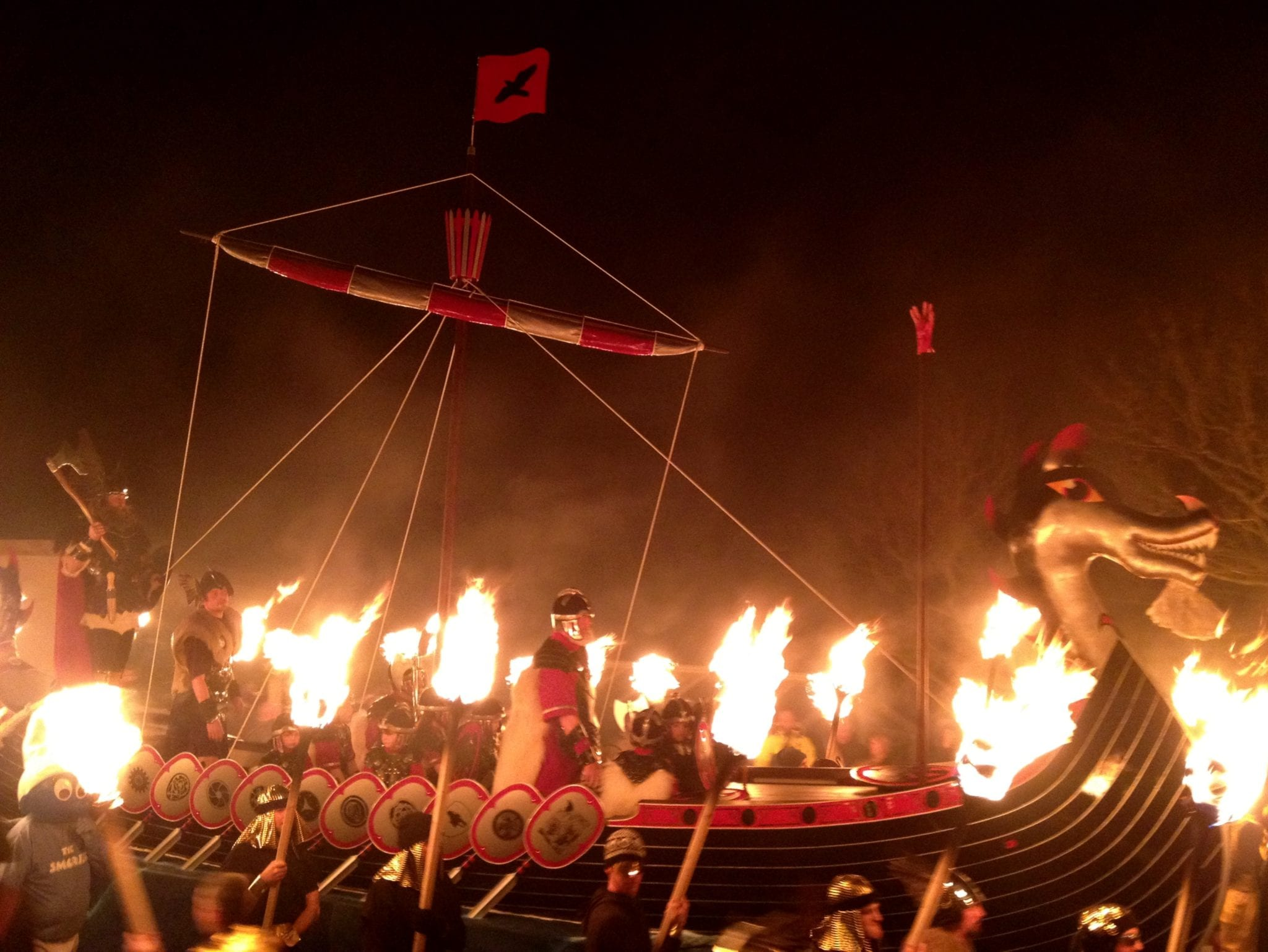 Up Helly Aa Galley