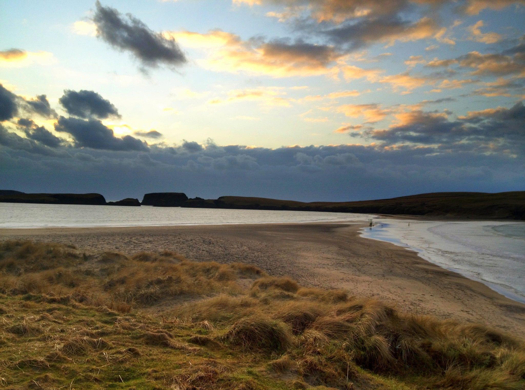 Shetland Double Beach