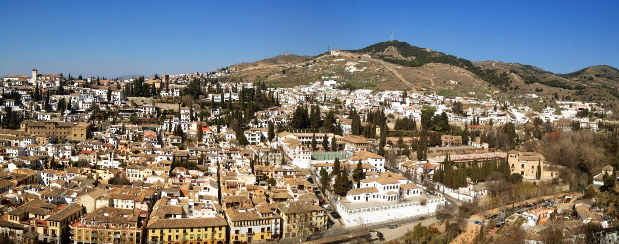 Whitewashed Granada