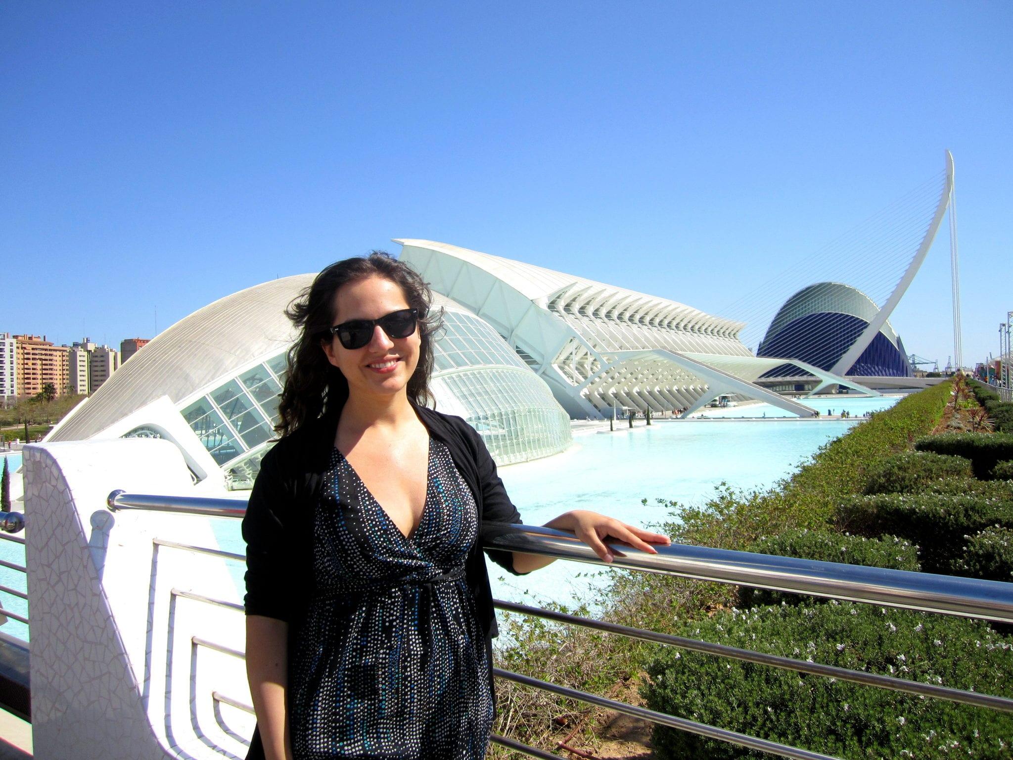 Kate in Valencia