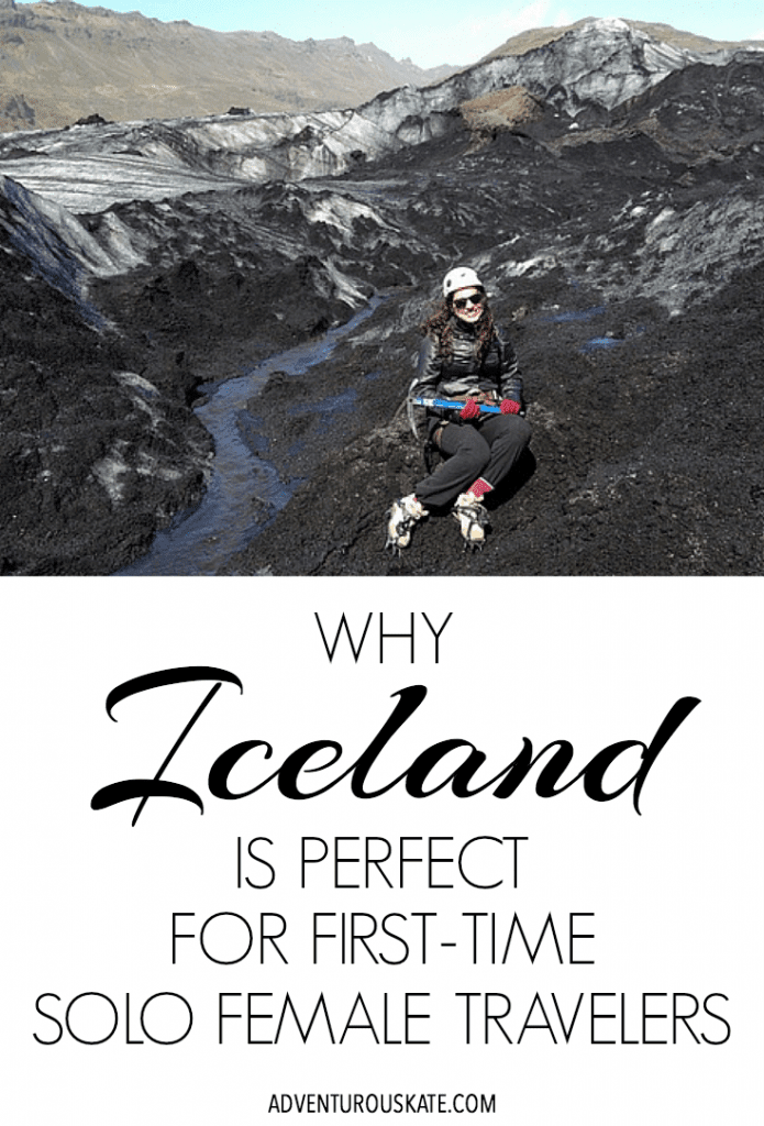 What is it that makes Iceland ideal for a first-time solo trip?