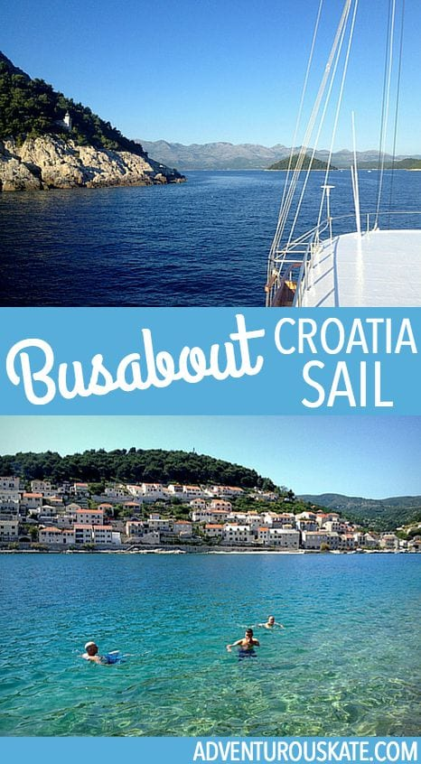 Sailing the coast of Croatia with Busabout Sail