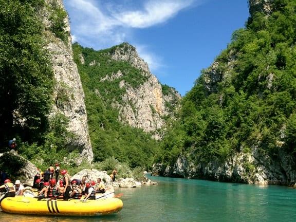 Whitewater Rafting in Montenegro