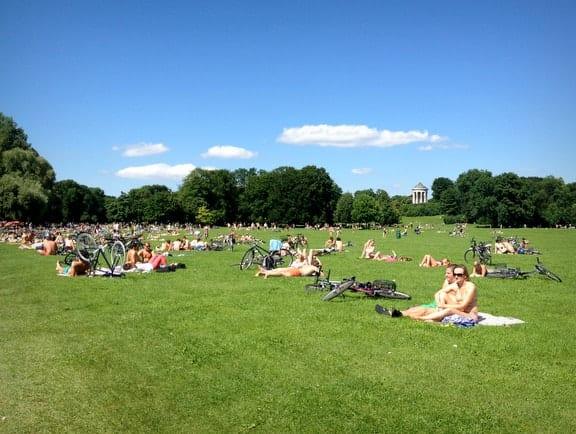 Kicking Back In Munichs Englischer Garden Adventurous Kate