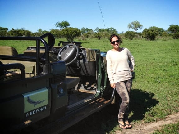 Adventurous Kate on Safari