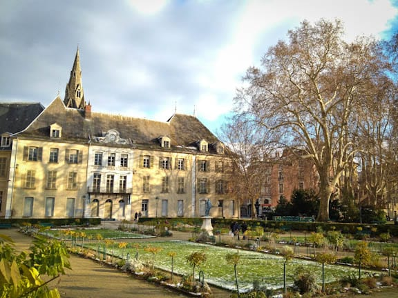 Gardens in Grenoble