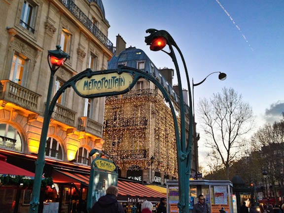 Living the parisian life in saint germain des pres - Saint michel paris metro ...