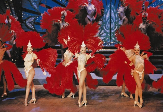 Moulin Rouge Dancers
