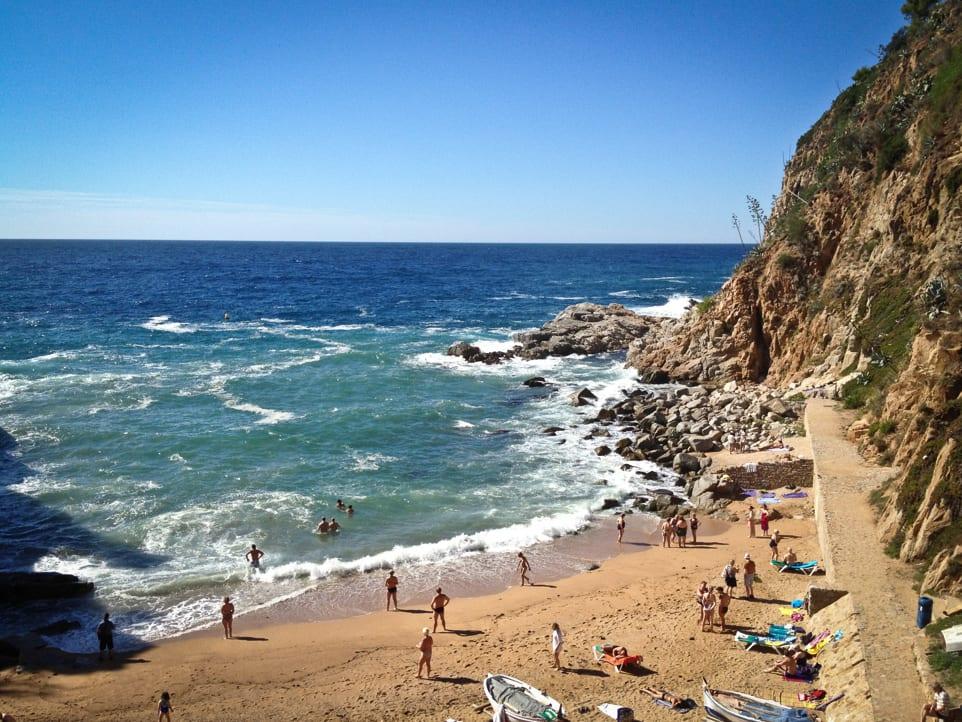 El Codolar, Tossa de Mar: My Favorite Hidden Beach in Europe