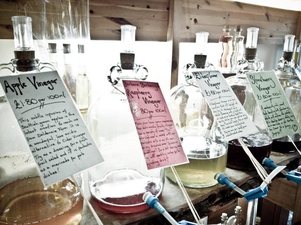 Vinegars at Demijohn