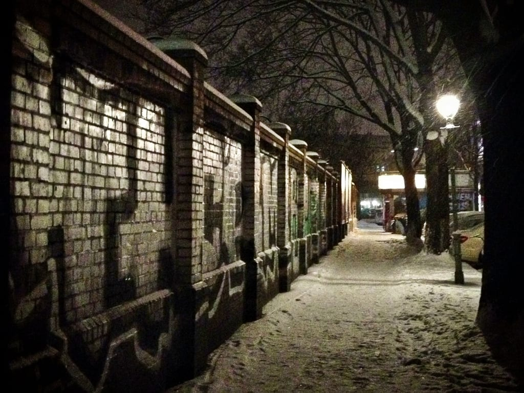 Snowy Kreuzberg