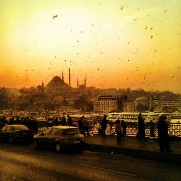 Istanbul Sunset via Instagram