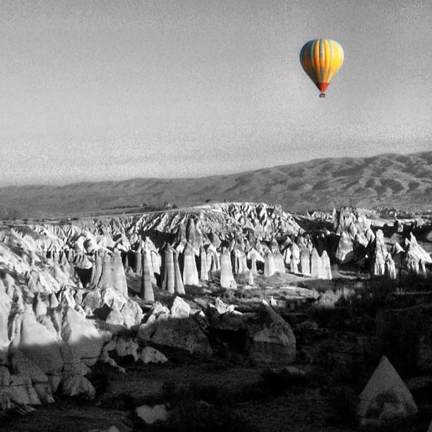 Cappadocia Colorsplash via Instagram