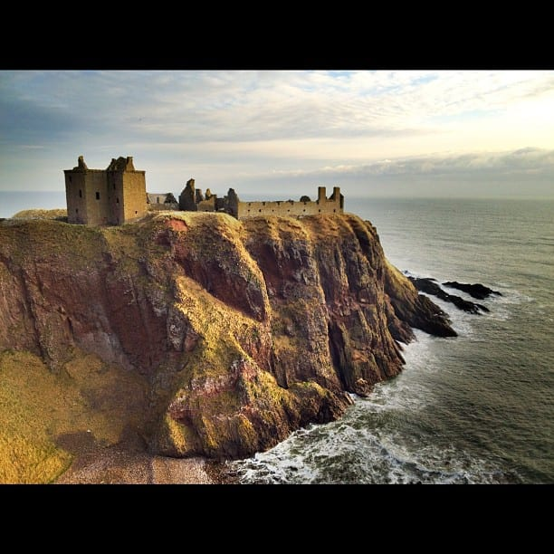 Dunnotar Castle via Instagram