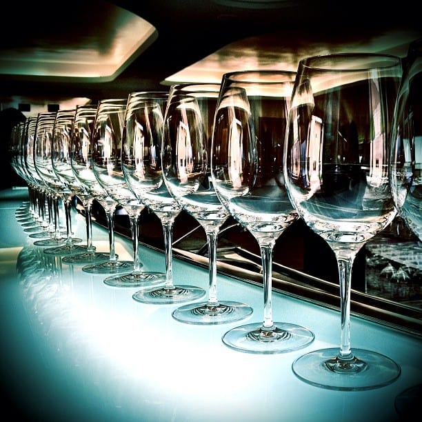 Glassware via Instagram