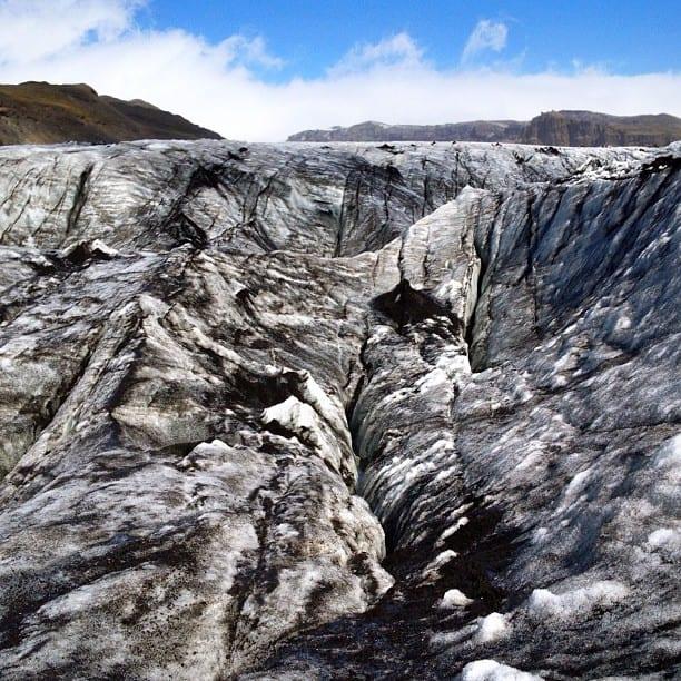 Iceland Glacier via Instagram