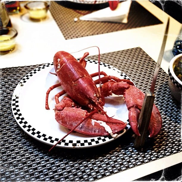 Evil Lobster via Instagram