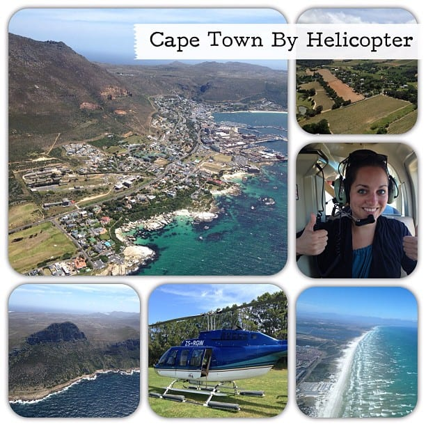 Cape Town by Helicopter via Instagram