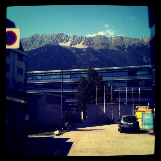 First Ever Instagram Photo -- Innsbruck