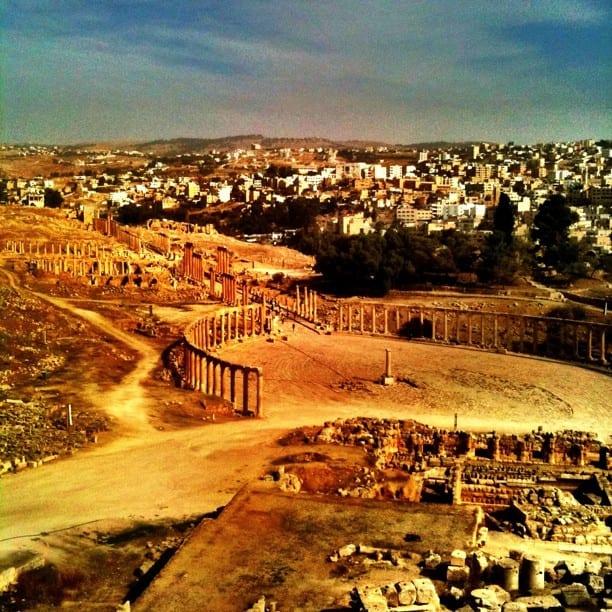 Jerash, Jordan via Instagram