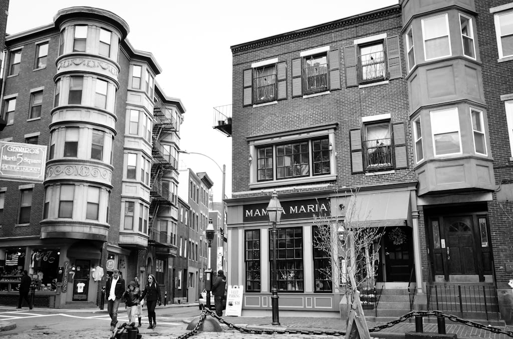 Mamma Maria The North End Is Home To Dozens Of Italian Restaurants