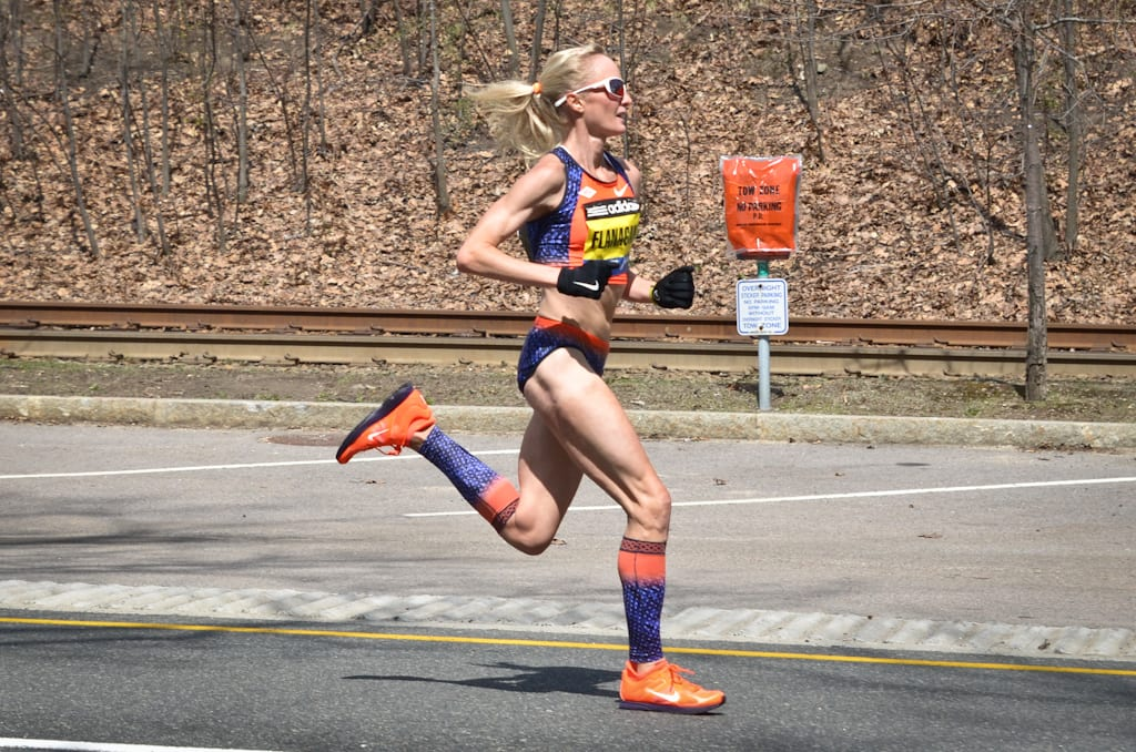 Marathon Runner from Marblehead