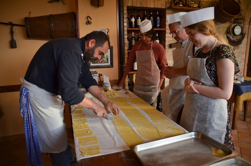 Making Ravioli with Stefano