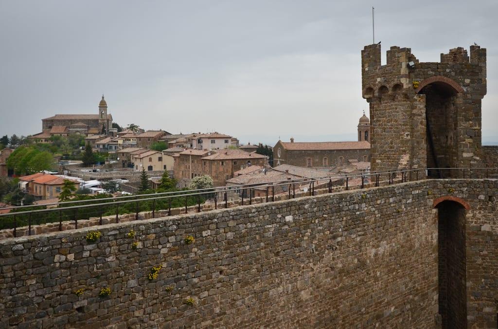 View of Montalcino