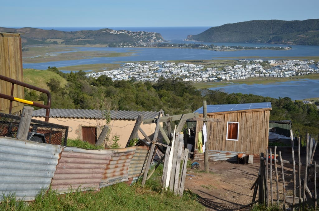 View of Knysna from the Townships