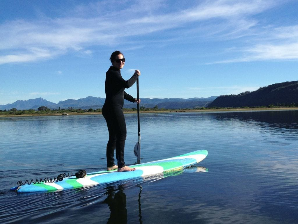 Kate Paddleboarding
