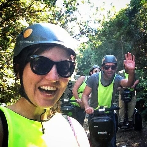 Segway Ride, Tsitsikamma Forest