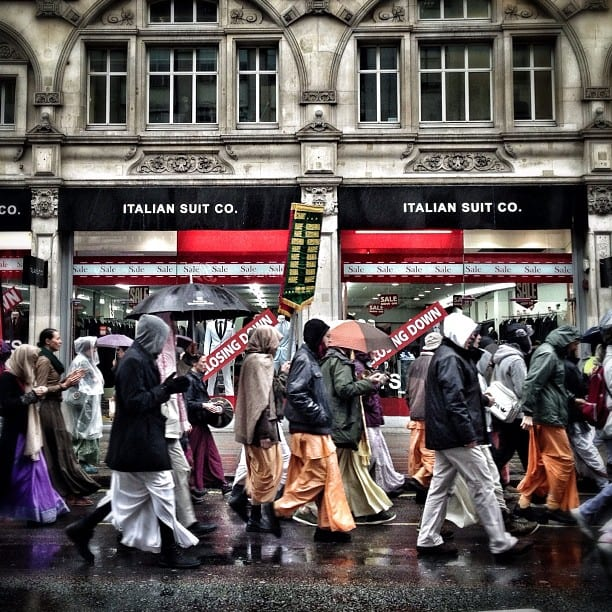 Hare Krishna Parade, London