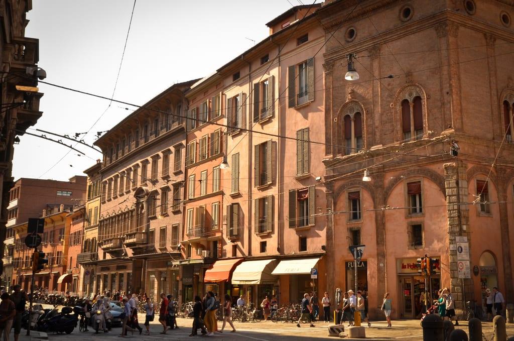 Bologna at Golden Hour